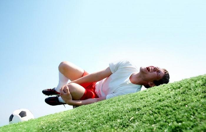 Chấn thương do thể thao cũng có thể gây nên các bệnh về cơ xương khớp